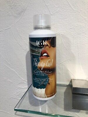 IGK THIRSTY GIRL COCONUT MILK LEAVE-IN CONDITIONER FULL SIZE 5OZ