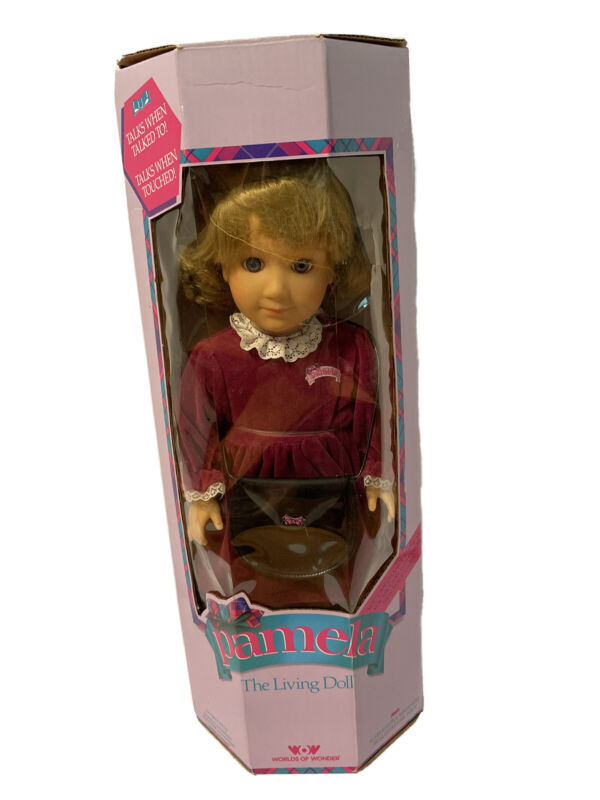 Vintage NIB Pamela the Living Doll with Out to Dinner Outfit