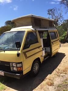 Toyota Hiace campervan McCrae Mornington Peninsula Preview