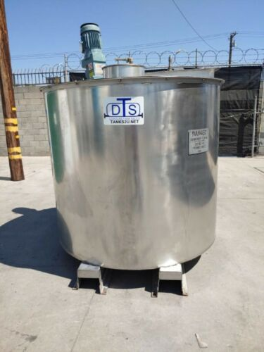 900 gallon stainless steel mix tank