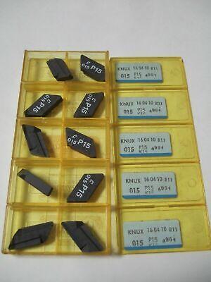 Sandvik Coromant Knux 015 P15 K15 Grooving Lathe Carbide Inserts 10 Pcs New