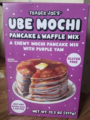 Trader Joe's Ube Mochi Pancake Waffle Mix Fresh 2021