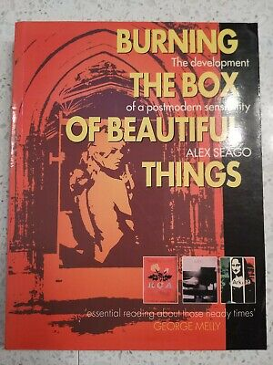 Burning the Box of Beautiful Things Alex Seago British POP ART postmodern book