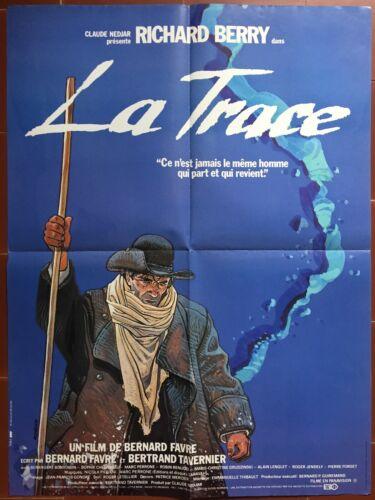 Poster The Trace Bernard Favre Richard Berry Moebius Gir 23 5/8x31 1/2in
