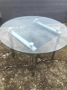 Glass top dining table Grange Brisbane North West Preview