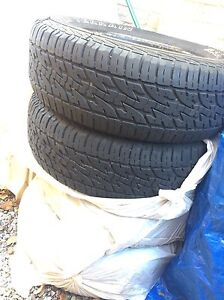 """17"""" ALL TERRAIN SUV/TRUCK TIRES - GREAT CONDITION - A/S !!"""