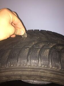 215/55R16 - 4 Ice Blazer Tires for sale