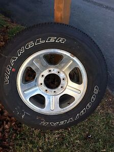 """(3) 18"""" rims and tires. Came off a 2006 F-250  St. John's Newfoundland image 2"""
