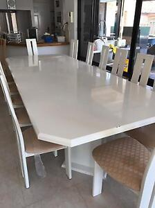Dining table with chairs Dianella Stirling Area Preview