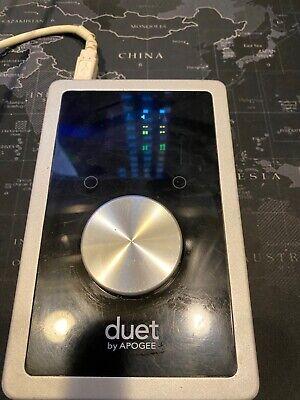 Apogee Duet 2 USB Audio Interface für Mac OVP Zubehör 1.5 Jahre Garantie