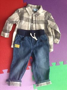 4 boy's outfits 12-18 month $5 for each one