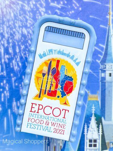 2021 Disney EPCOT Food & Wine Spaceship Earth Salt & Pepper Shaker Trash Can