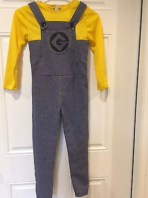 Despicable Me 2 Minion Child Dress Up Costume Boys Outfit Size - Minion Dressing Up Outfit