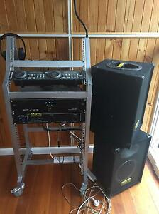 DJ gear with two speakers Airport West Moonee Valley Preview