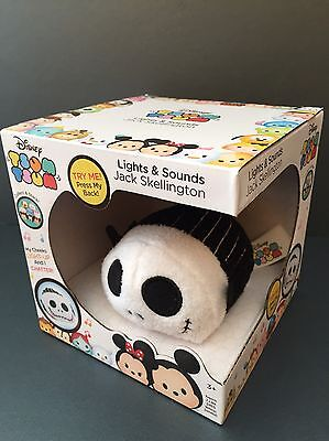 NEW Nightmare Before Christmas Jack Skellington Tsum Lights Sounds Exclusive
