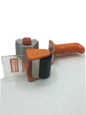 Heavy Duty Tape Dispenser Handheld Packing Gun Cutter Orange Shipping Supply