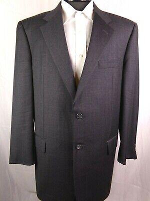 Hickey Freeman Blazer/Jacket Gray Wool Mens 43R