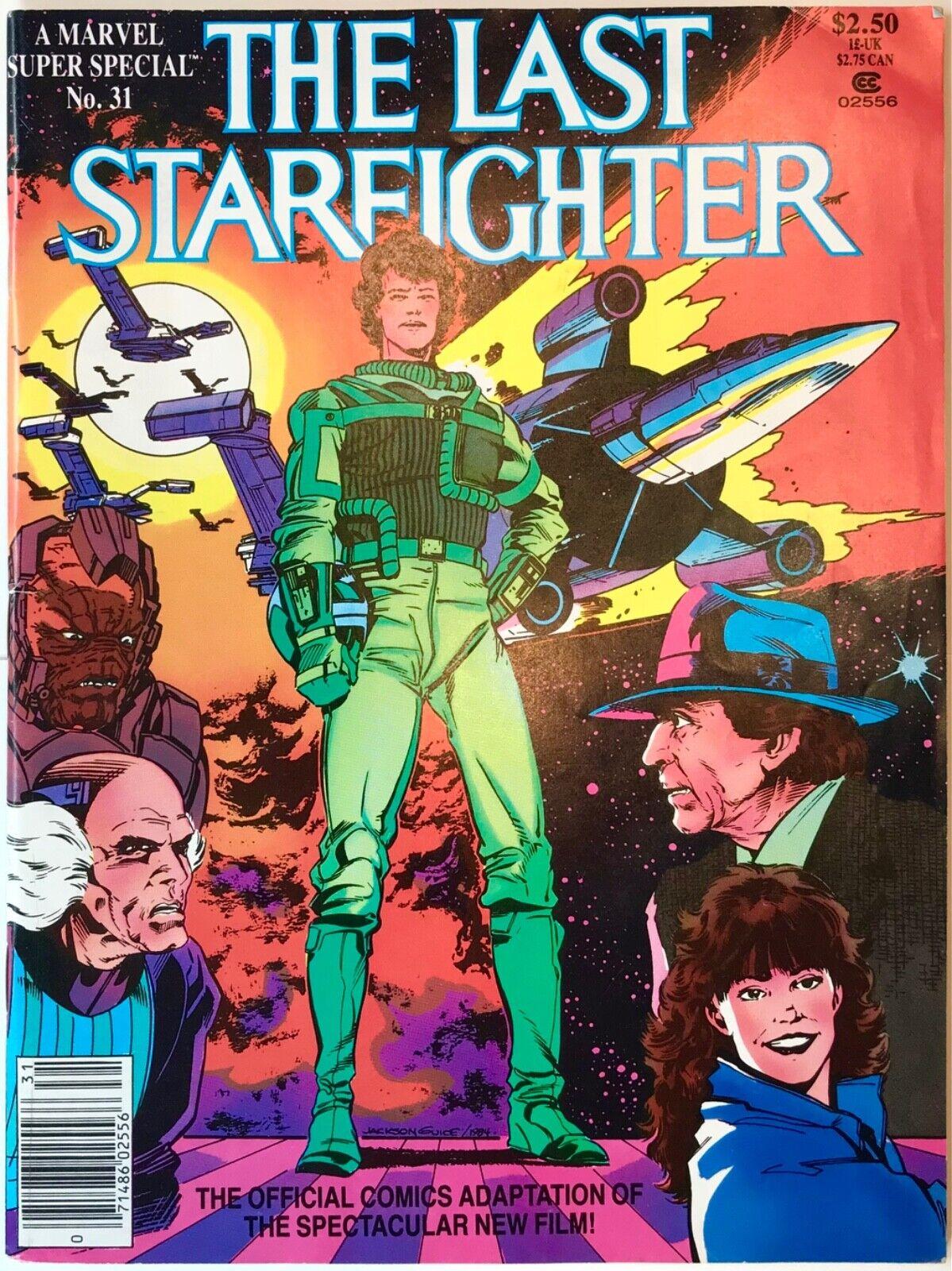 MARVEL SUPER SPECIAL 31 - THE LAST STARFIGHTER Movie Adaptation 1984 VG Cond - $4.99