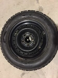 205-60-15  WINTER TIRES ON RIMS