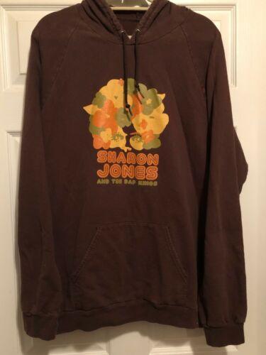 Sharon Jones and The Dap Kings RARE concert pullover hoodie sweatshirt