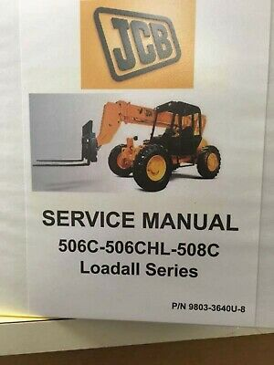 Jcb 506c-508c Loadall Service Manual