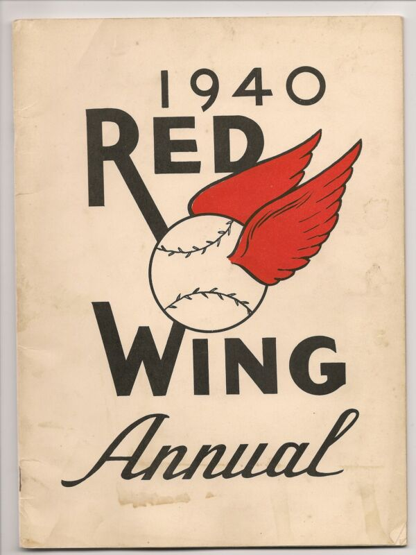 1940 Rochester Red Wings Yearbook RARE GEM!!
