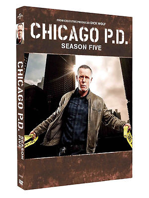 Chicago P D  Season 5  Dvd 2018 5 Disc  New Release Same Day Ship 1 3 Day Mail