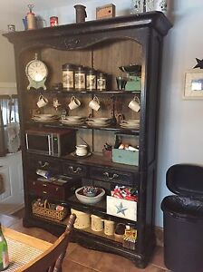 Downsizing Rustic Buffet/Hutch