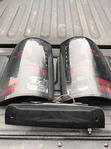 Recon led taillights and 3rd brake light for 13-16 ram
