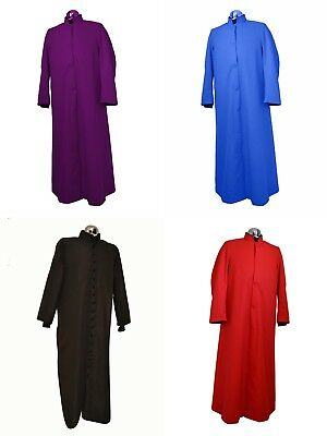 Servers Cassock Clergy Roman Catholic Robe Liturgical Vestments Priest - Priester Soutane Kostüm