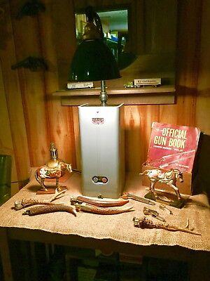 """Vintage Benjamin 8"""" Porcelain Light Steampunk Lighting"""