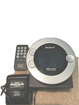 Sony Dream Machine Auto Time Set Dual alarm clock radio/cd/Ipod ICF-CD3ip / 056