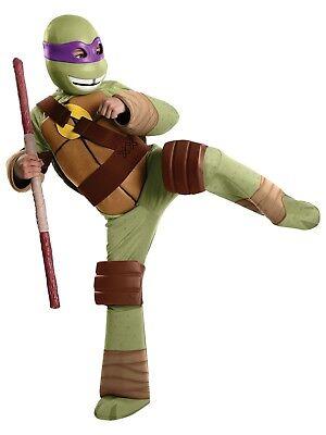 utant Ninja Turtles TMNT Deluxe Donatello Purple Costume Med (Purple Ninja Turtle)