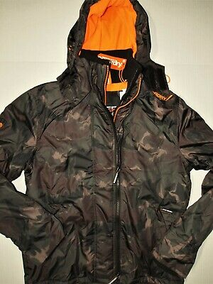 Superdry men's arctic hoodie size large windcheater jacket