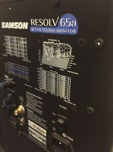 Studio speakers SAMSON RESOLV 65A