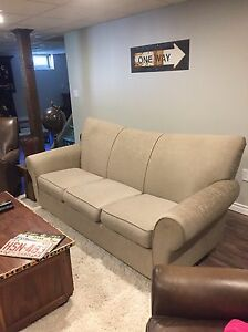 Beige Couch from Tepperman's