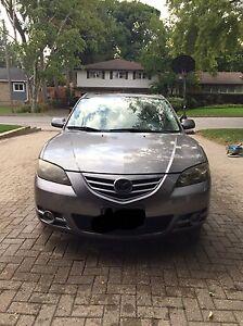 2005 Mazda 3 (89,000km) $5500 OBO