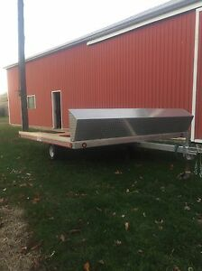 10ft Open Snowmobile Trailer London Ontario image 3