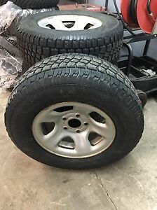 265/70r17 Winter Tires and Rims Dodge Ram