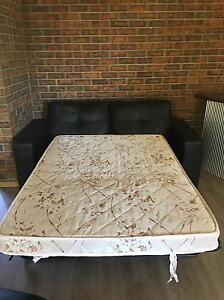 FREE sofa bed 2 seater black couch Redland Bay Redland Area Preview