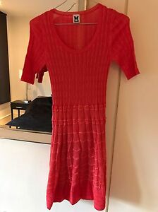 Brand New Never Used Missoni Woman's Coral Dress Italian Size 42 (UK 10)