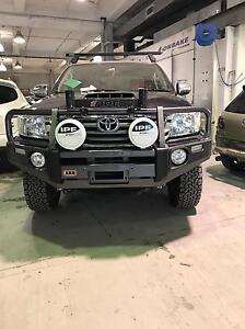 TOYOTA HILUX.  (ARB) BULL BAR with eye lids Ryde Ryde Area Preview