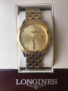 Men's Longines Flagship Gold Watch (L4.874.3.37.7) Plympton Park Marion Area Preview