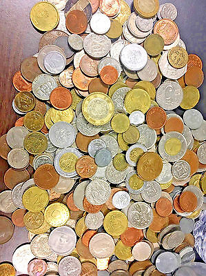 Bulk Lot 50 Foreign World Coins No Duplicates In Each Lots
