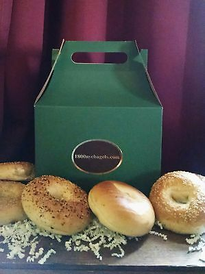 New York Bagels - 1DOZ - New York City  1800nycbagels - FRESH - Gift Boxed  - Gift Boxes Nyc