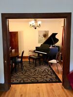 Piano lessons for all ages with experienced teacher in NDG