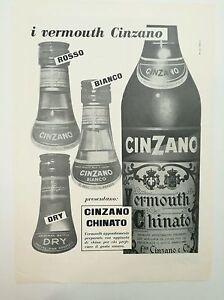 Pubblicita-epoca-1956-CINZANO-VERMOUTH-CHINATO-old-advertising-werbung-publicite