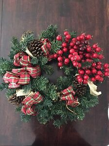 Christmas wreath. Decoration