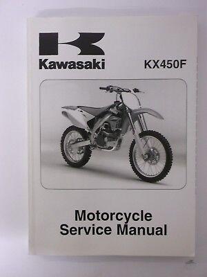 Kawasaki KXF450 2006 D6F Service Manual