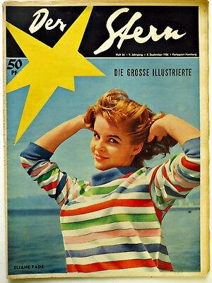 *Der Stern* Nr. 36/ 8.9.56 , Ufa 1950er-Original